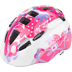 UVEX Kid 2 Fietshelm Kinderen, pink strawberry